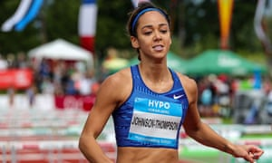 Katarina Johnson-Thompson: 'I feel I can score those scores to put me in those positions to win a gold medal.'