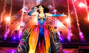 Katy Perry Performs At The Odyssey Arena, BelfastBELFAST, UNITED KINGDOM - MAY 07: Katy Perry performs on stage on the opening night of her Prismatic World Tour at Odyssey Arena on May 7, 2014 in Belfast, Northern Ireland.
