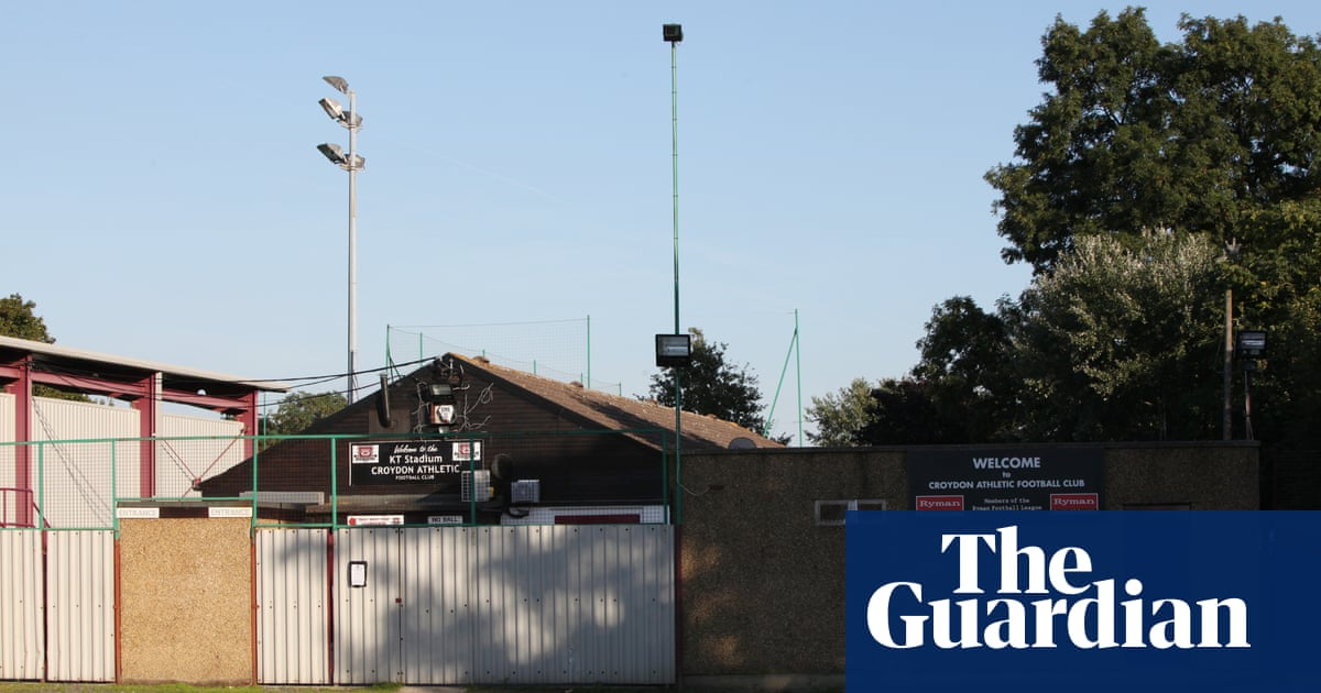 Fishers game against Croydon Athletic abandoned after alleged racist abuse