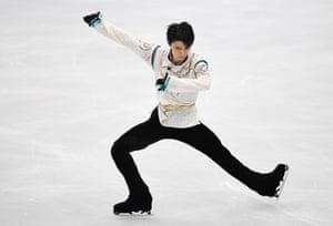 "Big things are expected from Japan's figure skating ""Ice Prince"" Yuzuru Hanyu."
