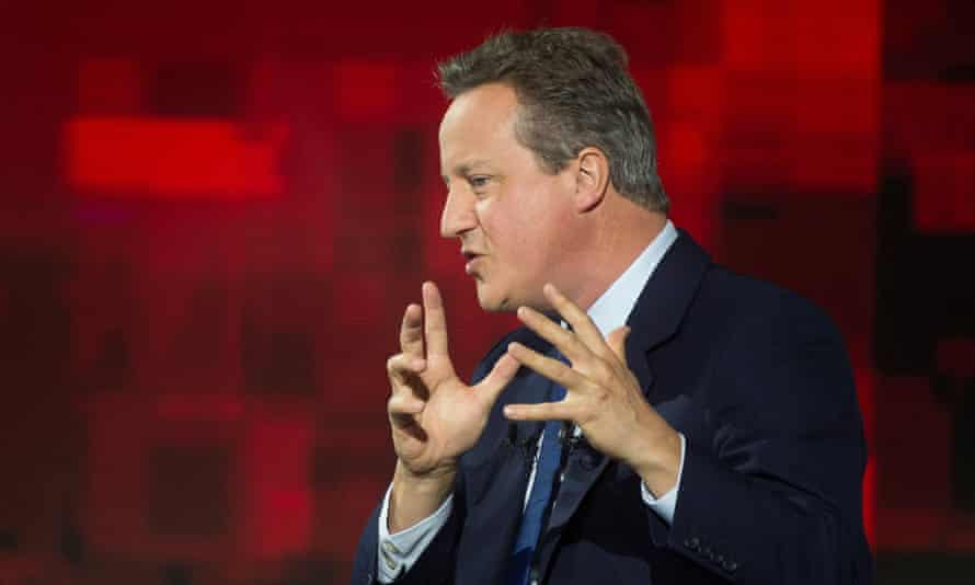David Cameron speaks at the conference in Poland.