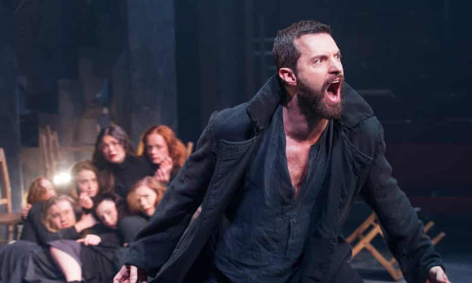 Richard Armitage as John Proctor in The Crucible at the Old Vic, London. Photograph:  Tristram Kenton for the Guardian.