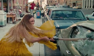 Homage to Ever Is All Over … Beyoncé's Hold Up video.
