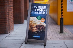Greggs' latest vegan offering, launched last week.