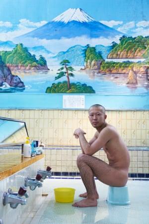 Sentō Bather by Simon Urwin