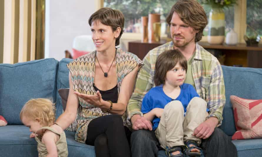 Adele and Matt Allen: free-form parenting.