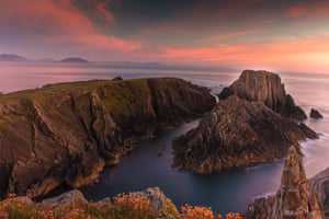 Sunset at Ireland's most northerly point, Malin Head, Ireland, by Yvonne Doherty.