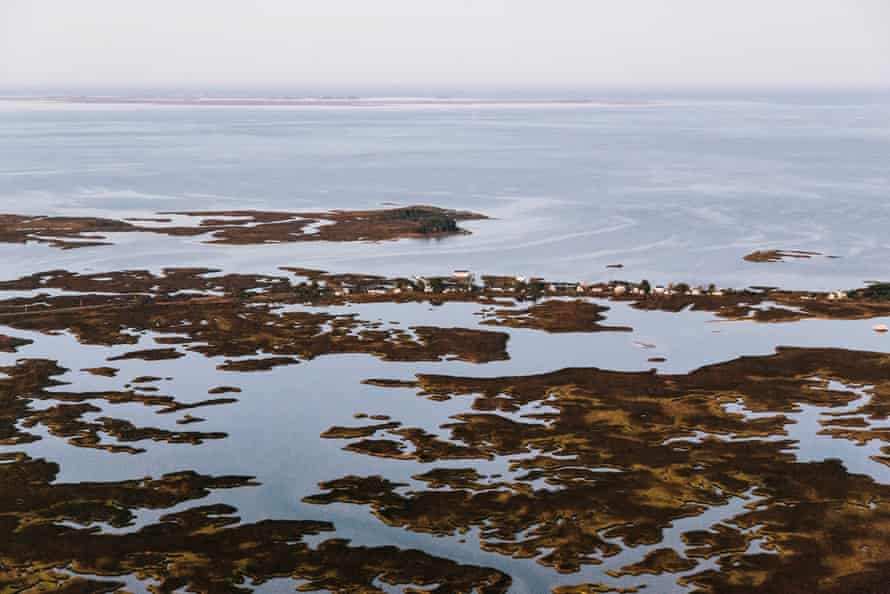 The 280 residents of Rhodes Point on Smith Island face higher tides and rising sea levels