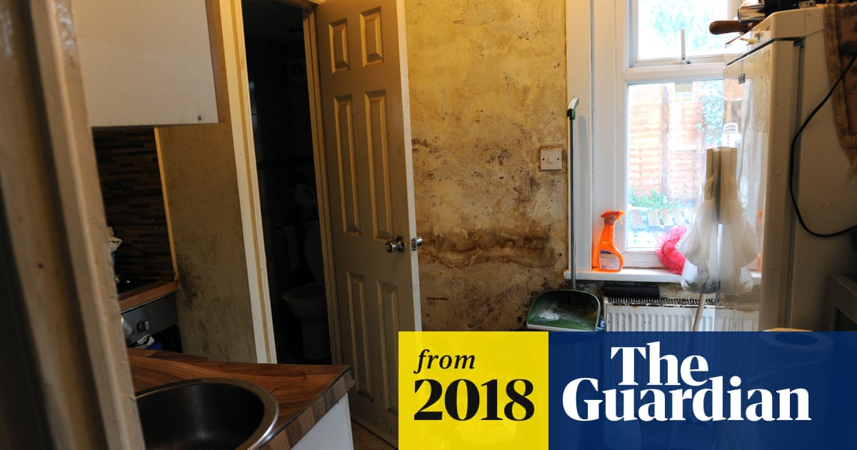 Hundreds of thousands living in squalid rented homes in England