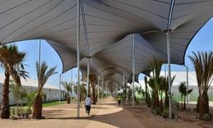 Marrakech talks tents