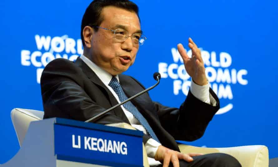 Prime minister Li Keqiang