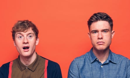 Eat it ... James Acaster and Ed Gamble's Off Menu, part of the Unmute podcast festival.