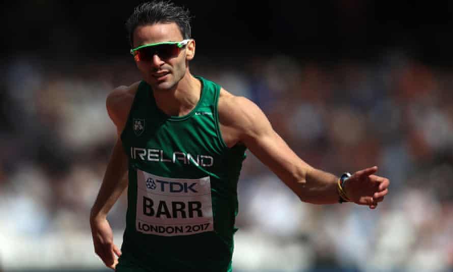 Ireland 400m hurdler Thomas Barr