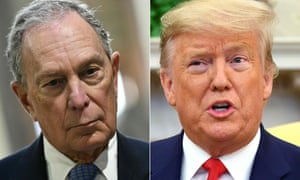 Barking Clown Bloomberg Fires Back On Twitter After Trump Taunts Us News The Guardian