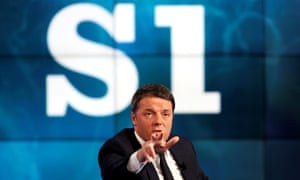 Italy's PM Matteo Renzi has vowed to quit if he loses the referendum on constitutional reforms.