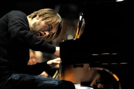 Daniil Trifonov at the Edinburgh festival, August 2016.