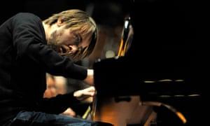 Daniil Trifonov performing at Edinburgh's Usher Hall in August 2016