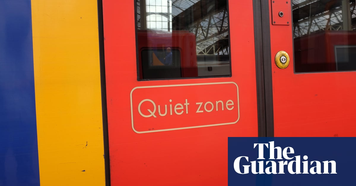 Train in pain: are noise-filled carriages bad for your health