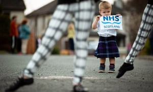 A Scottish Highland dance tribute to NHS workers.