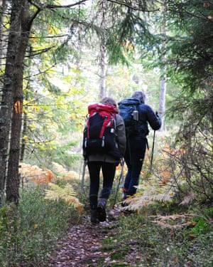 Hikiking at Anfasterod Gardsvik
