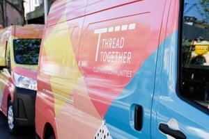 Thread Together mobile wardrobe vans