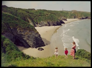 John Hinde's team famously produced bright colour cards for the Butlin's holiday camp empire in the UK in the 1960s and 70s. He continued to work as a photographer himself – here, his shot of The Silver Strand, Co Wicklow