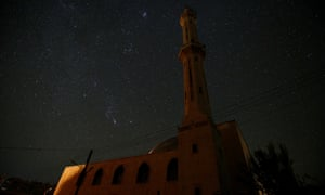 A mosque stands in the city of Idlib, Syria October 30, 2016.