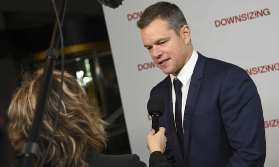 Matt Damon attends a screening in New York