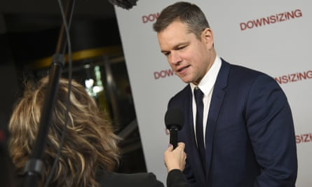 Matt Damon attends a screening in New York