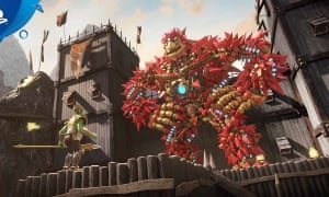 Knack 2: super-size platform fun for the PS4.