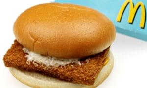 McDonalds Filet O'Fish – not the McEffing Fish Filet.