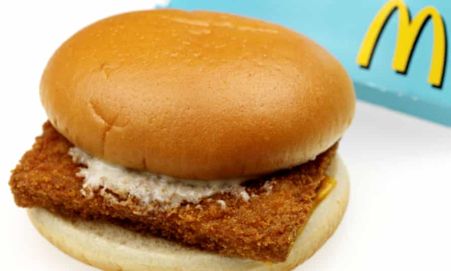 McDonalds Filet O'Fish – not the McEffing Fish Filet.