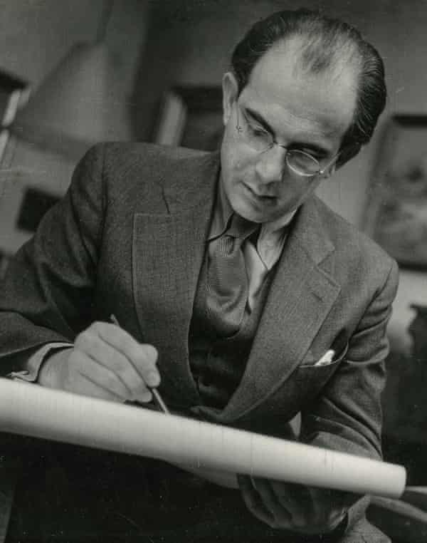 George Mayer-Marton at work in the 1930s.