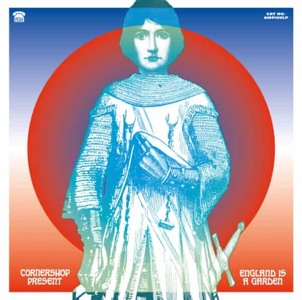 Cornershop England Is A Garden LP cover
