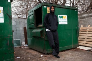 Marcus Baldwin, who survived being compacted inside a garbage truck.