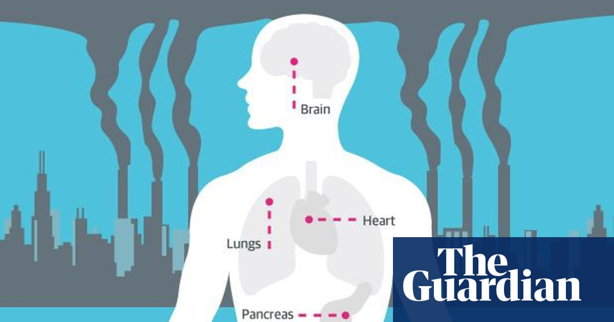 How air pollution affects your health - infographic
