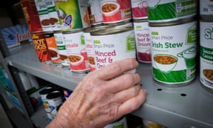 A food bank in South Shields