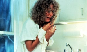 Close as Alex in 1987's Fatal Attraction