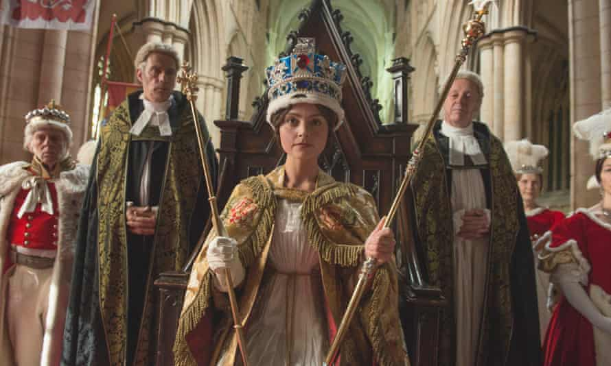 Still from the first series of ITV's Victoria.