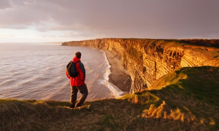 Nash Point on the Glamorgan Heritage Coast, which 'rivals Devon and Dorset's Jurassic coast for geological marvels'