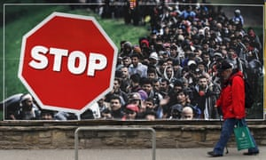 Hungary's Fidesz party has been running on an anti-migrant message.