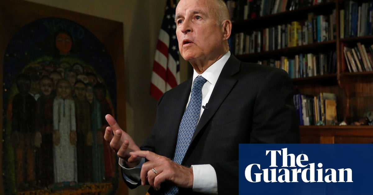 Jerry Brown: Trump's 'gross ignorance' main obstacle in climate change fight