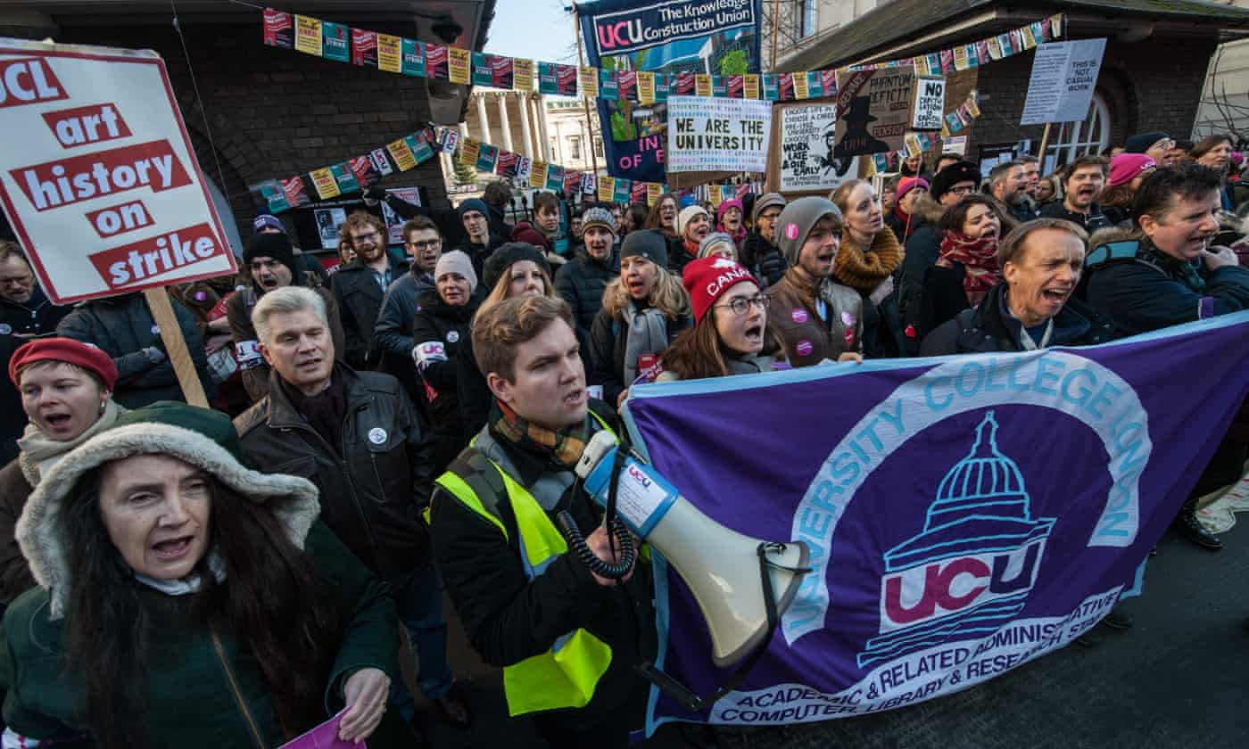 As students, we support our striking lecturers in their fight for education