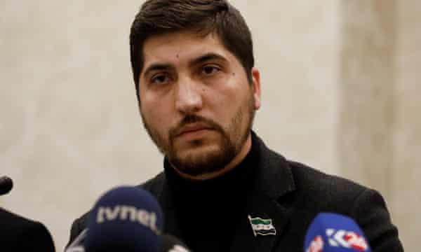 Osama Abu Zaid, a spokesman for the Free Syrian Army rebel alliance.