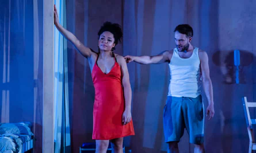 There are no female survivors … Amber James as Stella and Patrick Knowles as Stanley in A Streetcar Named Desire.