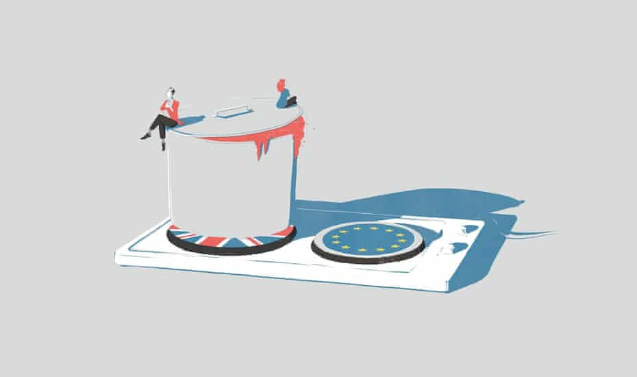 Illustration about Euro referendum by Daniel Stolle