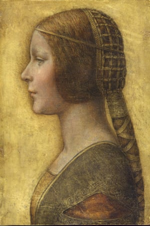 'The claim that La Bella Principessa is a genuine Leonardo rests on testing its paper and materials.'