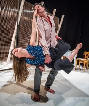 Ben Duke and Solène Weinachter in Juliet and Romeo.