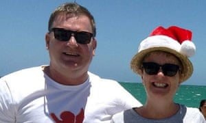 Bill Harrop and Sally Bradley, who died in the Sri Lanka bombings.
