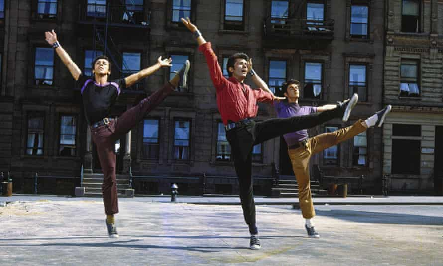 Jerome Robbins' original moves.